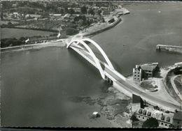 CPSM - LA FRANCE VUE DU CIEL... TREGUIER - Le Pont Canada Sur Le Jaudy - Vue Aérienne - Tréguier