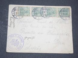 ALLEMAGNE - Enveloppe Pour Un Général En Suisse à Gunten En 1914 - L 14233 - Covers & Documents