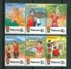 1986 Malaysia Costumi Costumes Set MNH**183 - Malesia (1964-...)