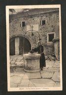ASSISI ( PG ) - Eremo Delle Carceri - Chiostro ( Spedita 1938 ) ANIMATA - Perugia