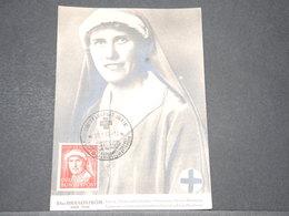 ALLEMAGNE  - Carte Maximum 1952 , Croix Rouge , Elsa Brandström - L 14241 - Maximum Kaarten