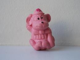 - Ancienne Figurine ESSO Glup's. 1972. Série Glup'sville. Les Frères Clownistes. Le Singe - - Figurines