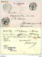 Romania ,Rumanien,Roumanie - Focsani 1903 - Postal Stationery