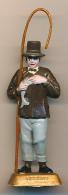 Figurine MOKAREX : LORRAIN, Province Française, Belle Peinture à La Main, 2 Scans, Pêche à La Ligne, Poisson - Figurines