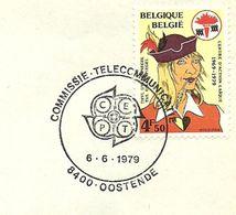 Belgium Special Day Cancel Commissie Teleccommunicatie Oostende 6/6/1979 - Europa-CEPT
