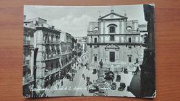 Caltanisetta - Chiesa Di S.Agata E Corso Umberto - Caltanissetta