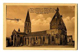 CPA 87 Haute-Vienne Eglise Collégiale Du Dorat - France