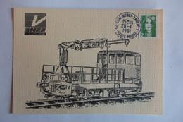 CHALINDREY SECTION EQUIPEMENT 1991 - Eisenbahnen