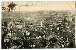 CPA 87 Haute-Vienne Limoges Vue Panoramique Vers Saint-Pierre Et La Cathédrale - Limoges
