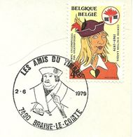 Belgium Special Day Cancel Portret Van Francois De Tassis, Braine Le Comte 2/6/1979 - Zonder Classificatie