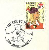 Belgium Special Day Cancel Portret Van Francois De Tassis, Braine Le Comte 2/6/1979 - Beroemde Personen