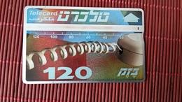 Phonecard Israel 120 Units Special Number 413 G Used - Israel