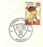Belgium Special Day Cancel Wapenschild Van De Streek Land Van Rode, Oosterzele 2/6/1979 - Omslagen