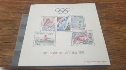 LOT 388257 TIMBRE DE MONACO NEUF** LUXE BLOC - Colecciones & Series
