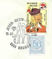 Belgium Special Day Cancel International Year Of The Child Brugge 15/3/1980 - Kindertijd & Jeugd