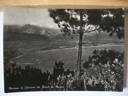 1955 - Carrara - Marina Di Carrara Da Bocca Di Magra - Vera Fotografia - 2 Scans. - Carrara