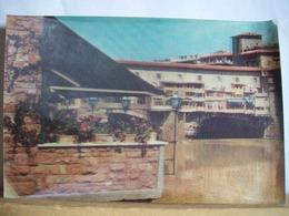 1970 - Firenze  - Ponte Vecchio - Cartolina 3D Tridimensionale - Stereoscopiche - 2 Scans. - Cartoline Stereoscopiche