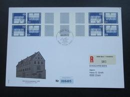 Schweiz 1970 FDC Sondekarte Kehrdruckmarken / Zierfeld. PTT. Auflage 9500 Stk. - Tête-Bêche