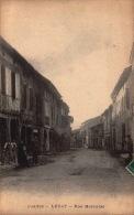 09 - Ariège - Lézat Sur Leze - Rue Mercudal  - SC70-6 -  R/v - Lezat Sur Leze