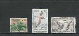 TAAF Scott 11-12-13 Yvert 11-12-13 (3) O Et * Cote 9$ 1958-9 - Terres Australes Et Antarctiques Françaises (TAAF)