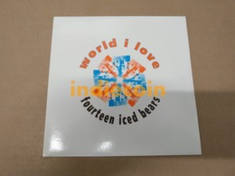 45T 14 ICED BEARS World I Love 1989 UK 7 Single 3 Titres FOURTEEN ICED BEARS - Vinyl Records