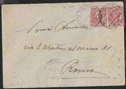 POSTA MILITARE Ia GUERRA - BUSTA DA PM 150 (28a DIVISIONE) (p.1) 22.09.1918 PER ROMA - Correo Militar (PM)