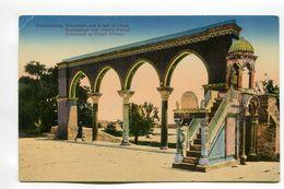 Jerusalem - Colonnade And Pulpit Of Omar - Israel