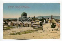 Jerusalem - General View Of Temple Area - Israel