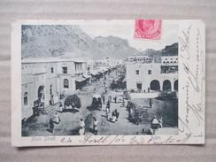 YEMEN  -  ADEN   -  MAIN  STREET         TRES  ANIME    TTB - Yémen