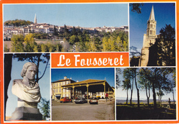 31 LE FOUSSERET  / MULTIVUES / BUSTE DE L' ABBE SICARD - Francia
