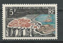 TAAF Scott 23 Yvert 20 (1) * Cote 65$ 1963 - Neufs