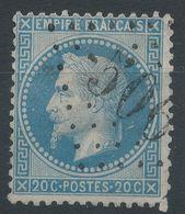 Lot N°41262  Variété/n°29A, Oblit GC 506 Blois, Loir-et-Cher (40), Taches Blanches Dérierre Le Coup Et Face Au Nez - 1863-1870 Napoleon III With Laurels