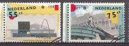 Pays-Bas 1987  Mi.nr: 1318-1319  Europa  Oblitérés / Used / Gestempeld - Gebruikt