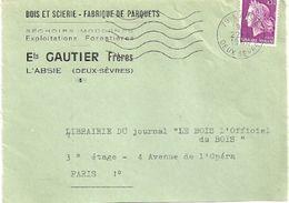 DEUX SEVRES - Dépt N° 79 = L' ABSIE 1968 = FLAMME Codée = SECAP '5 Lignes Ondulées' - Mechanical Postmarks (Advertisement)