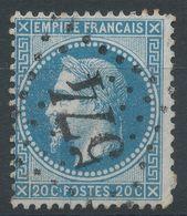 Lot N°41263  Variété/n°29A, Oblit GC 574 Bourges, Cher (17), Multitude De Points Blancs Face Au Visage - 1863-1870 Napoléon III Lauré