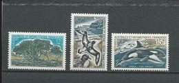 TAAF Scott 26, 27, 27A Yvert 28, 29, 30 (3) * LH Cote 63$ 1969-70 - Terres Australes Et Antarctiques Françaises (TAAF)