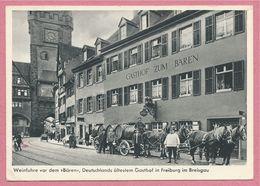 Allemagne - FREIBURG Im BREISGAU - Gasthof Zum Bären - Deutschlands ältesten Gasthof - Freiburg I. Br.