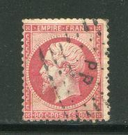 Y&T N°24  Ambulant P P - 1862 Napoleon III