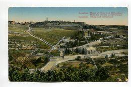 Jerusalem - Mount Of Olives With Gethsemane - Israel
