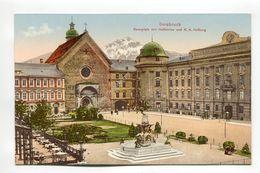 Innsbruck - Rennplatz Mit Hofkirche Und K. K. Hofburg - Innsbruck