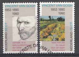 Pays-Bas 1990  Mi.nr: 1377-1378  Todestag Von Vincent Van Gogh  Oblitérés / Used / Gestempeld - 1980-... (Beatrix)