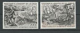 TAAF Scott C26-27 Yvert PA27-28 (2) * Cote 145$ 1972 - Terres Australes Et Antarctiques Françaises (TAAF)