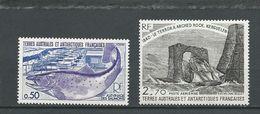 TAAF Scott 70, C58 Yvert 71, PA59 (2) ** Cote 3$ 1977-9 - Terres Australes Et Antarctiques Françaises (TAAF)