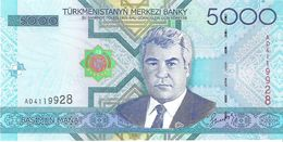 Turkmenistan - Pick 21 - 5000 Manat 2005 - Unc - Turkménistan