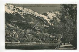 Innsbruck - Innpromanade Mit Pension Kayser, Weiherburg Und Mariabrunn - Innsbruck