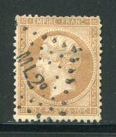 Y&T N°21  Ambulant M L2° - 1862 Napoléon III