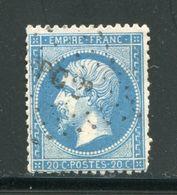 Y&T N°22  Ambulant P C2° - 1862 Napoleone III