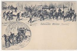 Schweizer Militär - Sanität        (P-114-60829) - Matériel