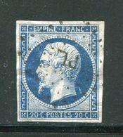 Y&T N°14A  Ambulant P L - 1853-1860 Napoleone III