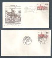 France, 2476, Oblitéré, 06/06/1987, Lens, 1er Jour, Exposition Nationale, 60e Congrès National FFAP - Postmark Collection (Covers)